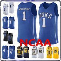 NCAA Basketball Jerseys 1 Williamson 2 Reddish 4 Redick 32 Laettner 11 Jeunes 25 Wade 12 Morant 22 McCall Duke College League UCLA Men Jersey