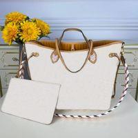 N50047 мм сумка сумка решетка 2 шт. Набор женщин сумки сумки сумки кошелек цветок сцепления escale быстрый crossbody роскошный кожаный магазин ретро рюкзак высокое качество