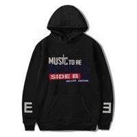 디자이너 까마귀 힙합 랩퍼 Eminem 앨범 음악 - 사이드 B (Deluxe Edition) 후드 스웨터 여성 / 남성 캐주얼 옷
