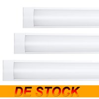 DE Stock 4ft 3ft 2 1 Shop Light Fixture 54W LED Tube Lights 5400lm 6000K 4000K 3000K 3 color temperatures Lightss 120cm Garage Closet Lighting for Office Home Basement