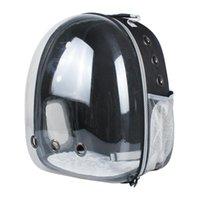 Сумка для домашних животных Выходите портативный прозрачный кот и собака рюкзак космический кабин нести плечевые перевозчики, домики ящики
