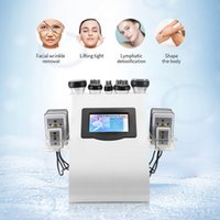 40khz Skin Tightening Belly Fat Burner Machine Fat Reduction Machines Made in China 5 Handles+8 Laser Pads Portable
