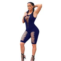 Сплошные комбинезоны Женщины Плиссированные Спагетти Ремешок Reampers Дамы Скрытые штаны Брюки без рукавов Партия Партия Клуб Устройства FEMAL 3XL