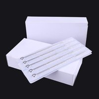 Tattoo Needles 50Pcs RL RS Steel Disposable Sterilized Tatoo Curved Round Liner High-Grade Needle Equipment Supplies