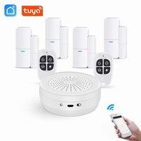 Smart Home Control Wireless Alarm Kit Tuya WiFi System Doorbell Function Burglar Security Life App