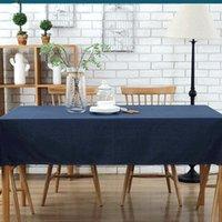 Masa örtüsü Yi Dian Avrupa minimalist kahve pamuk masa örtüsü su geçirmez ev el