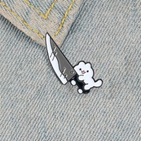 Cute Enamel Cat brooches pins Animal Brooch Lapel pin badge fashion jewelry gift for girls children will and sandy646 T2