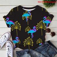 Camisetas de los hombres 2021 moda 3d camiseta de verano hombres flamenco camiseta fitness anime tshirts sexy camisas masculinas casuales tops para hombre ropa