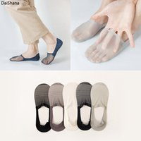 1Pairs New Sock Slippers Men No Show Thin Invisible Fashion Socks Man Summer High Quality Ankle Solid Color Breathable Socks Men