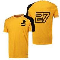 F1 Formula One Coading Suit Ricciardo T-shirt a maniche corte Poliestere Asciugatura in poliestere Può essere personalizzato