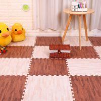 16 pcs / set shining crianças quebra-cabeça jogar tapete de bebê espuma crianças tapete tapete tapete brinquedos educativos para infantil 30x30x1cm