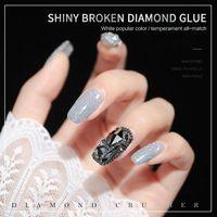 Nail Polish Ennisi Explosion Diamond Glue 2021 Art Crystal Bundi Powder TSLM1