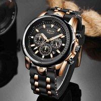 Дизайнерские часы Марка Часы Роскошные Часы Мужчины Lige Top Sport Мужская Водонепроницаемая Кварцевые Часы Человек Повседневная Военный Запястье