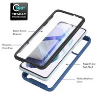 360 Protector PET Front Cover Phone Cases For Samsung Galaxy S21 Plus Note 20 S20 FE A31 A51 A71 A21S 5G 4G Rugged Clear Back Shell