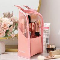 Storage Boxes & Bins Cosmetic Tool Bag Makeup Brush Finishing Bucket Tube Lipstick Eyebrow Pencil Highlight Stick Portable J8