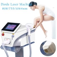 3 Wavelength 808nm Diode Laser Hair Remover Painless Effetctive Hair Removal Machine With 755nm 808nm 1064nm For All Skin Hair
