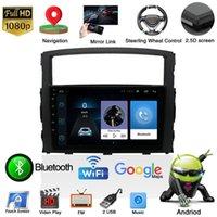 "9 ""Android 10.1 автомобиль DVD GPS навигация радио WiFi стерео BT-плеер мультимедиа для Mitsubishi Pajero 2009-2021 2 DIN"