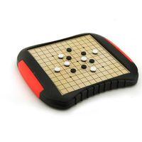 Divertidos niños tienen juguetes de novedad magnéticos Checkers Chess Checkers Gobang