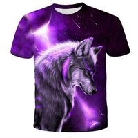 Lovers Wolf Printed T shirts Men 3D T-Shirts Drop Ship Top Tee Short Sleeve Camiseta Round Neck Tshirt Fashion Casual Brand T6293