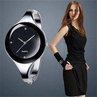 Montres de luxe pour hommes et femmes de la marque Montre de luxe pour femmes, en acier inoxydable, quartz, simple, dontract