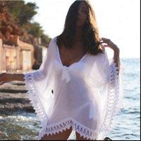 Womens Dress Crochet Sexy Women Beach Wear Lace Bikini Short Cover Up White Hollow Out Swim Suit Swimwear