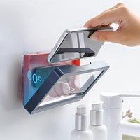 Mobiltelefonhalterung Halterung Mobile Box Halter Dusche Wasserdichte Home Wand Anti Wasser Selbstklebende Touchscreen Badezimmer Dichtungspeicher