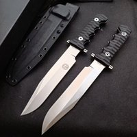 High hardness tactical knife DC53 steel integrated fixed sharp blade outdoor hunting self-defense tool jungle machete combat equipment camping fishing EDC travel