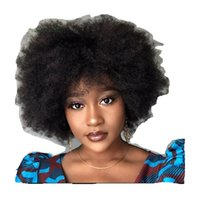 4x4 lace closure wigs afro kinky curly human hair wig Brazilian curl front wigss for black women