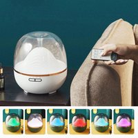 600ml Household Air Humidifier Diffuser Remote Control Essen...