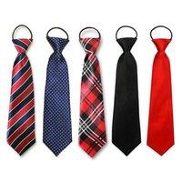 Cute Boys Girls Color Elastic Adjustable Necktie Children Tie Patterned Kids Tie Casual Neck Ties Cravat School Uniforms Set