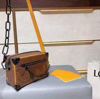 Designer womens fashionling bolsa senhora tronco de impressão tronco sacos de ombro meninas saco crossbody com caixa