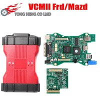 Full Chip VCMII Dianóstico Scanner Multi-Language VCM2 IDS V101 Ferramenta de diagnóstico VCM II OBD2 para FRD / M-AZDA Ferramentas