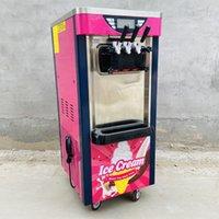 220V 110V dessert shop three-color three-flavor soft ice cream machine