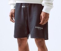 Fear Of God Essentials Shorts reflectantes Vintage High Street Pantalones cortos FOG Sports Loose Casual Terry and Mesh Shorts