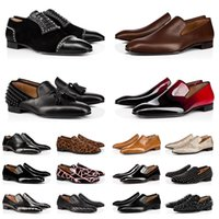 С коробкой красных дна мужские формальные платья Обувь мода кожаные мокасины кроссовки повседневные Chaussures мужчины роскоши дизайнеры платформы бизнес плоский размер пятки 39-47