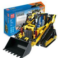 Rc Loader Car Wheels Brick Track Toy Kit Heavy Load Truck Big Blocks For Kids Construction Set Bloc De Constructor Vehicle