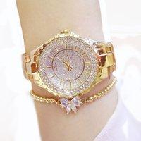 Branded watch Designer Fashion luxury women's waterproof full diamond high-grade quartz steel band Watch wrist