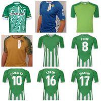 2021 20 21 Real Betis Soccer Jersey Joaquin Loren Boudebouz Bartra Casa Away Stile Canales Commemorative Edition Fekir 2022 Uomini