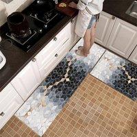 Carpets Home Textile Waterproof Oilproof Kitchen Mat Antislip Bath Soft Bedroom Floor Living Room Carpet Doormat Rug