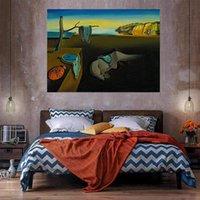 Pintura a óleo do relógio em canvas home decor handcrafts / hd impressão de papel de parede personalização é aceitável 21060233