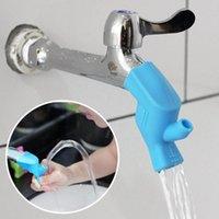 Küchenarmaturen 1 stück Silikon Wasserhahn Verlängerungspülkind Kinder Waschhahn Badezimmer Guide Extender Device H0o5