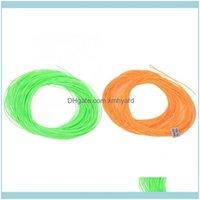 Linien Sport im Freien30m Nylon Angellinie Floating Wire Seil mit geschweißten Schleifen Gegengewicht Tackle Aessory Braid Drop Lieferung 2021 ocwu