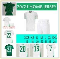 Hayranlar oyuncu versiyonu Cezayir 2021 ev uzakta futbol formaları Mahrez Feghouli Bennacer Atal 20 21 Cezayir Futbol Takım Gömlek Erkekler + Çocuklar Maillot de Foot Setleri
