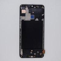 Display LCD para Samsung Galaxy A70 A705 Tela OLED Painéis de Toque Digitalizador Substituição de montagem com moldura
