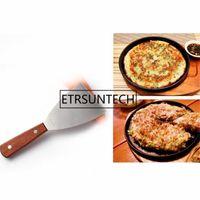 100pcs Stainless Steel Butter Cutter Steak Shovel Dough Knife Pizza Cake Scraper BBQ Baking Kichen Tools & Pastry