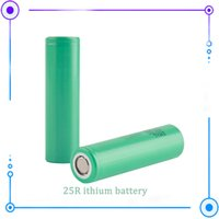Nieuw product 18650 Oplaadbare batterij 25R 3000mAH 26F 2500mAh hoge afvoercel met lithiumbatterijen voor Samsung MSDS Rapport PK 25R DHL Snel
