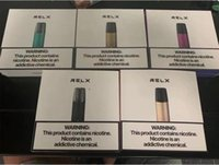 Original E-Cigarros Atomizadores Autênticos Bateria Descartável POD Cartucho Classic Relx Starter Kits 350mAh Pen Vape Kit Puffs