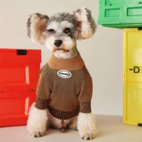 Dog Apparel Sweaters Autumn Winter Keep Warmer Knitted Sweater For Teddy Schnauzer Small Dogs Clothing Pet Clothes