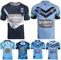 Mens 2021 Blues Home Pro Jersey NSW Estado de origem Rugby Jerseys 18 19 20 Gales do Sul