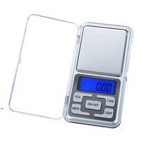 مقياس الجيب الرقمي المحمولة LCD مقياس المجوهرات الإلكترونية الذهب الماس عشبة التوازن مقياس الترجيح المنزلية DWB8163